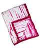 Curated Nest: Nurseries and Design - Kyoto Pink Shibori Handmade Quilt - Blanket