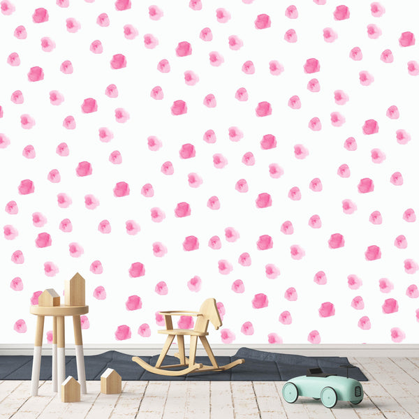 Curated Nest: Nurseries and Design - Lacey Decals - wallpaper