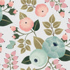 Curated Nest: Nurseries and Design - Lila Wallpaper - wallpaper