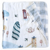 Curated Nest: Nurseries and Design - Luxe Muslin Quilt - London - Blanket