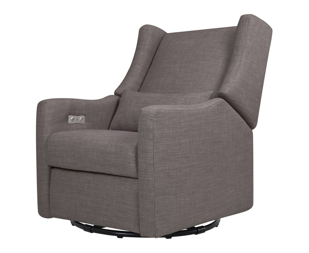 Curated Nest: Nurseries and Design - Kiwi Electronic Recliner and Swivel Glider - Glider