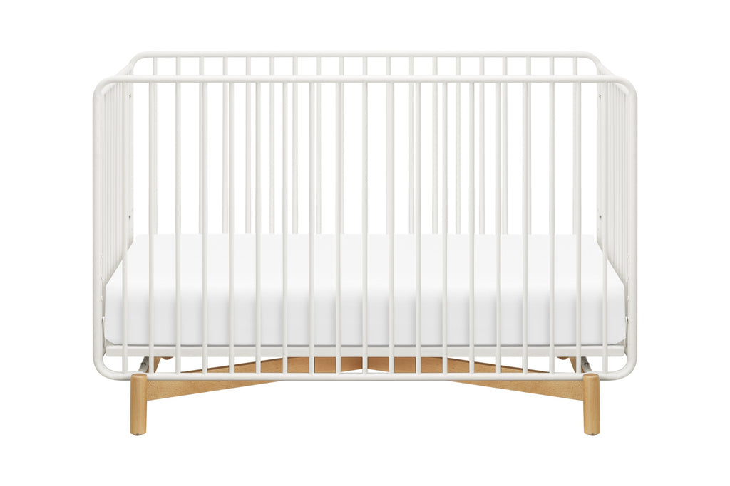 Curated Nest: Nurseries and Design - Bixby 3-in-1 Convertible Metal Crib with Toddler Bed Conversion Kit - Crib