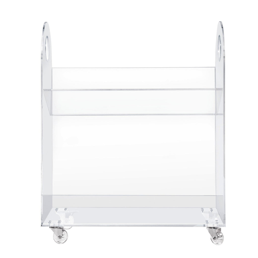 Curated Nest: Nurseries and Design - Presto Acrylic Bookcase and Cart - Bookshelf