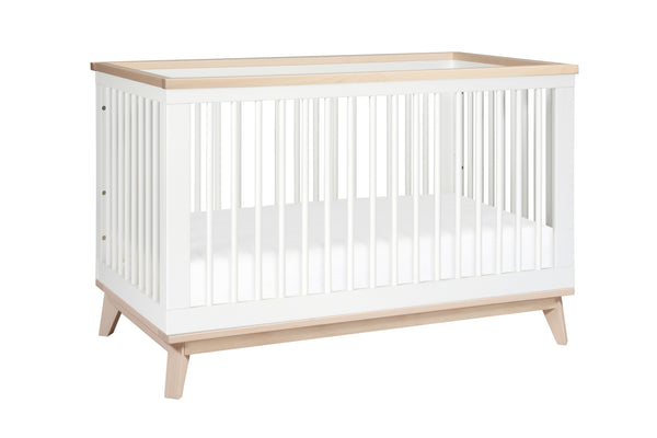 Curated Nest: Nurseries and Design - Scoot 3-in-1 Convertible Crib with Toddler Bed Conversion Kit - Crib