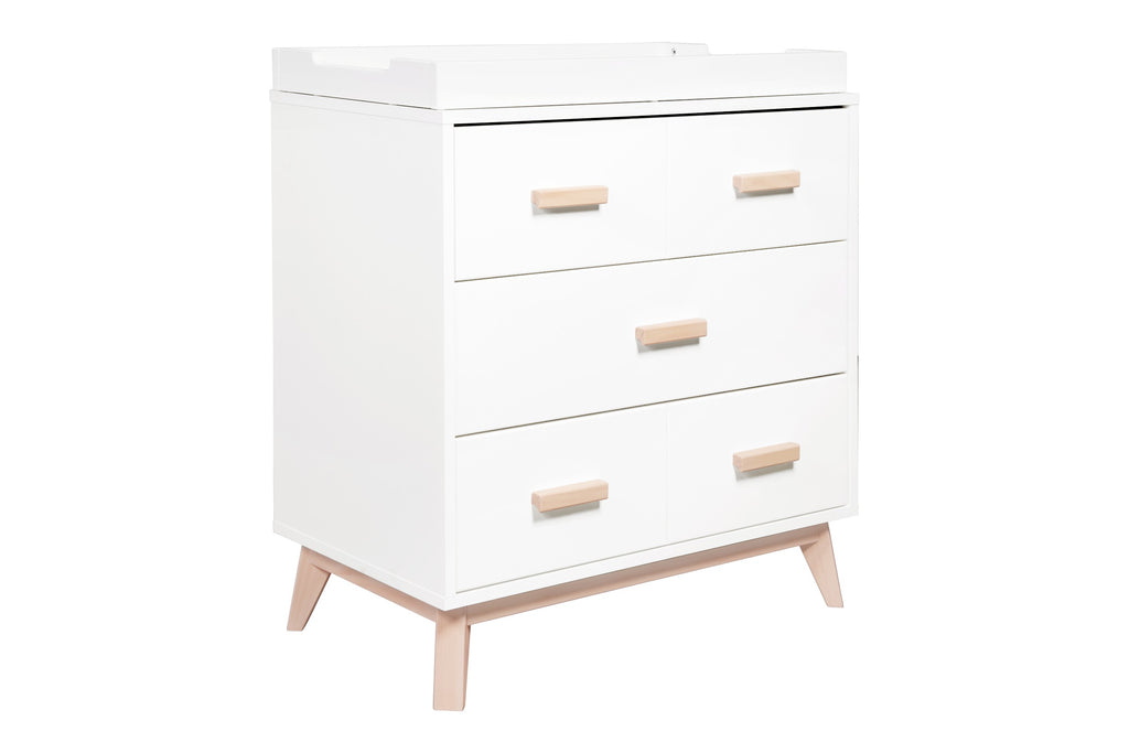 Curated Nest: Nurseries and Design - Scoot 3-Drawer Changer Dresser with Removable Changing Tray - Dresser