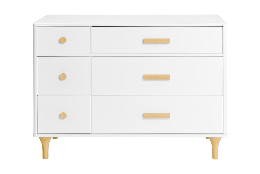 Curated Nest: Nurseries and Design - Lolly 6-Drawer Double Dresser - Dresser