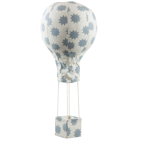 Curated Nest: Nurseries and Design - Hot Air Balloon Mobile - Blue Stars - Accessories