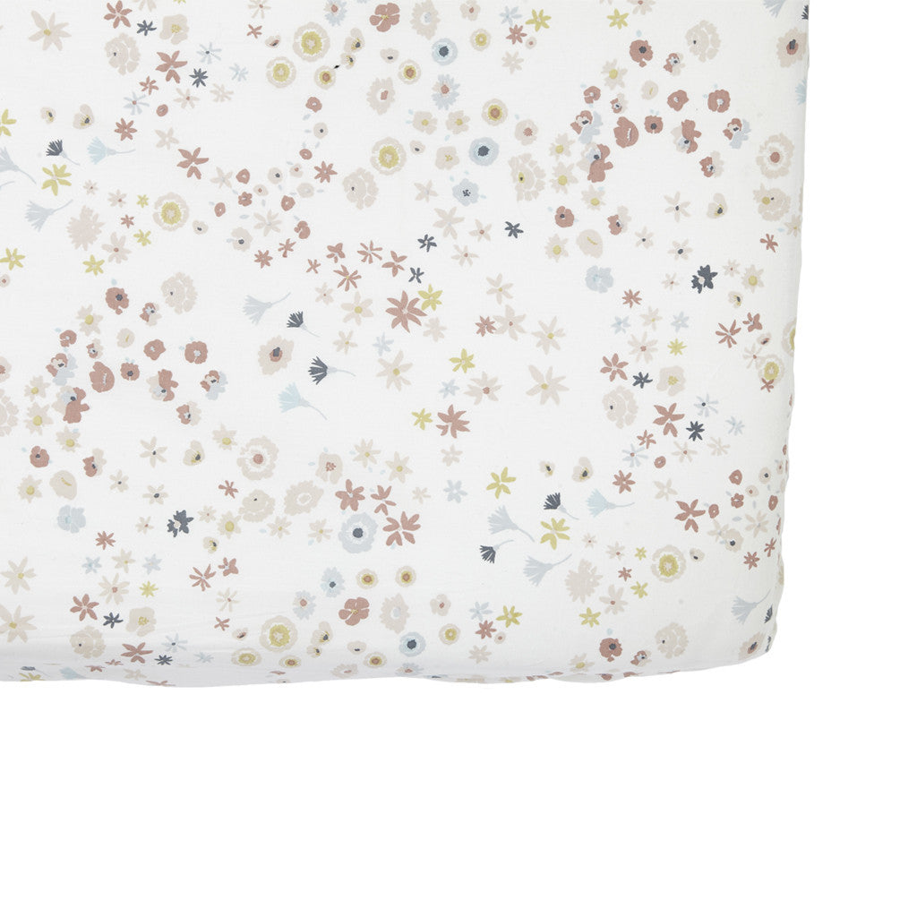 Meadow Flowers Crib Sheet