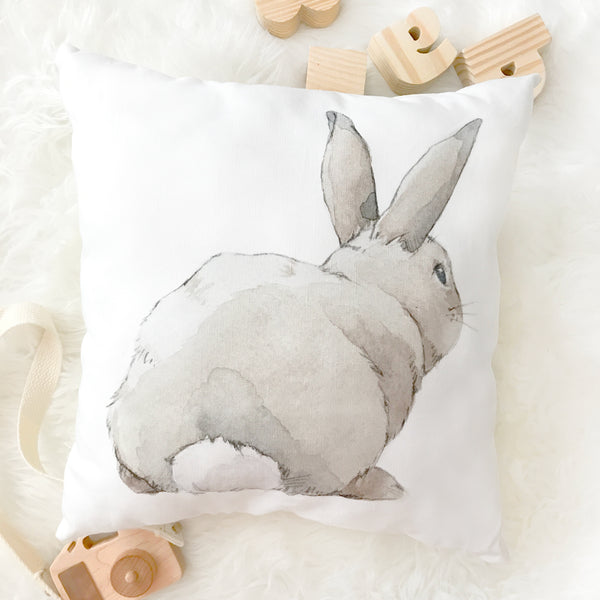 Curated Nest: Nurseries and Design - Shy Bunny Pillow - pillow