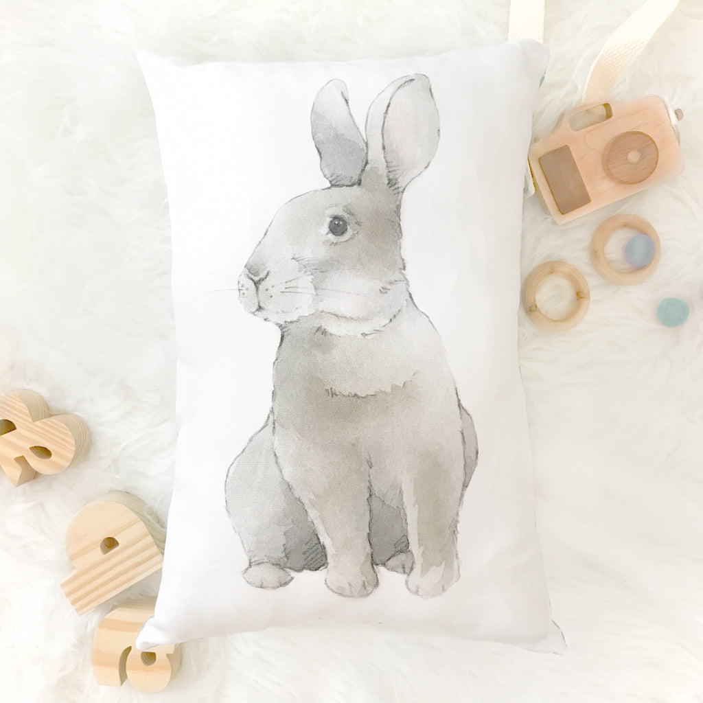 Wise Bunny Pillow