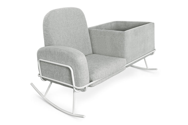 Curated Nest: Nurseries and Design - Ami Bassinet Rocker - Glider
