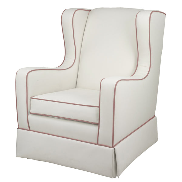 Oilo Penelope Glider in Ivory and Blush