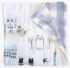 Curated Nest: Nurseries and Design - Luxe Muslin Quilt - Paris - Blanket