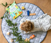 Curated Nest: Nurseries and Design - Handmade Indigo Blue Play Mat - Play mat