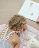 Curated Nest: Nurseries and Design - Handmade Pink Play Mat - Play mat