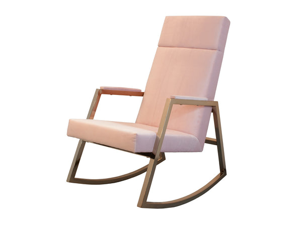 Curated Nest: Nurseries and Design - Incy x Hobbe Rocker - Blush - Glider