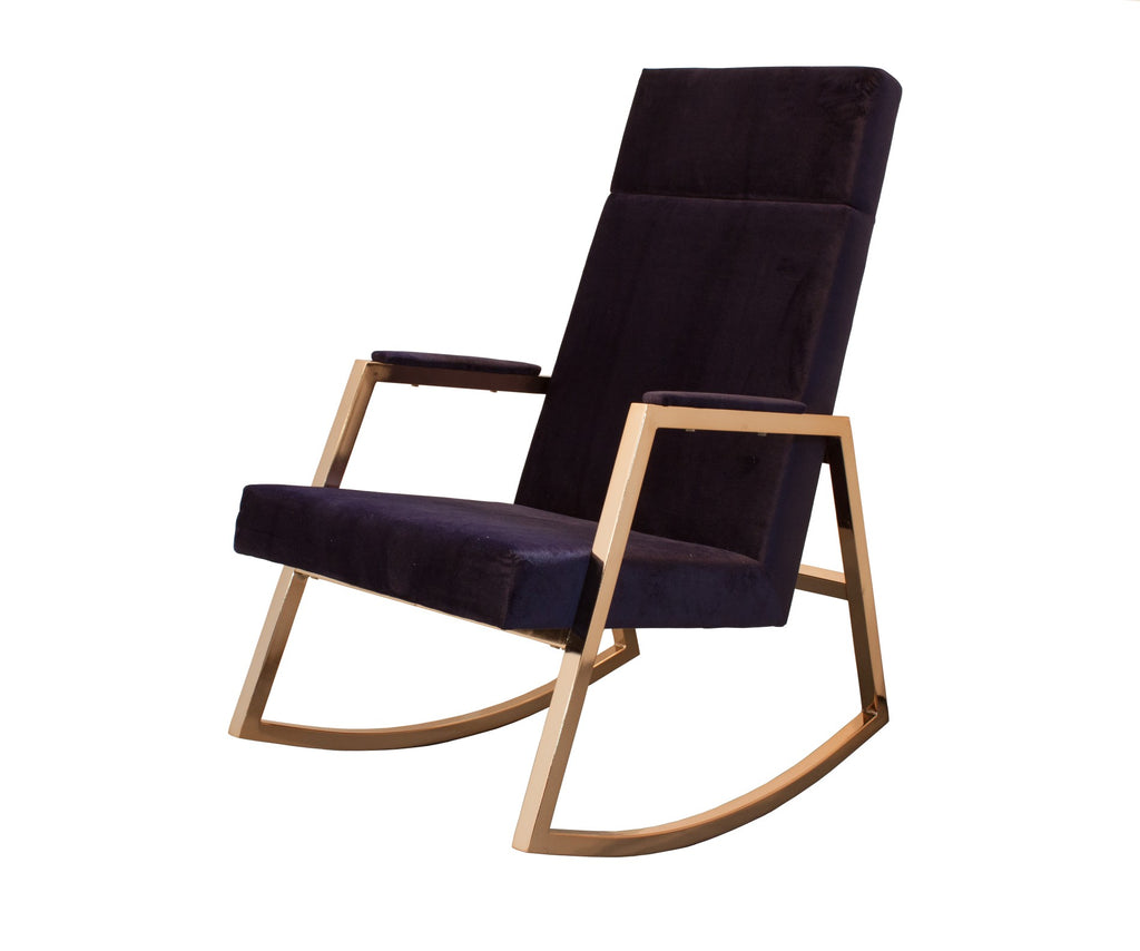 Curated Nest: Nurseries and Design - Incy x Hobbe Rocker - Indigo - Glider