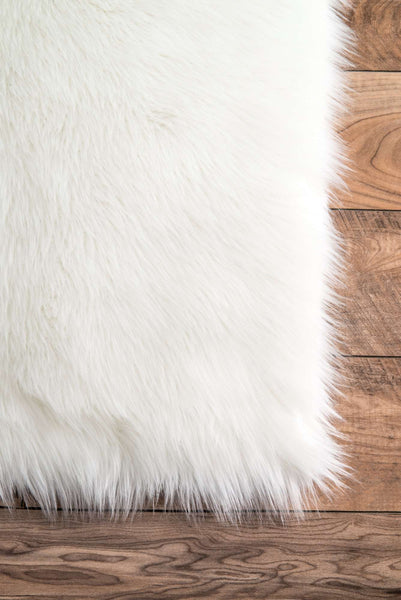 Curated Nest: Nurseries and Design - Rodolfo Faux Sheepskin Shag - Rug