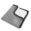 Curated Nest: Nurseries and Design - Oilo Black and White Blanket - Blanket