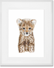 Safari Baby Cheetah Portrait
