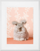 Curated Nest: Nurseries and Design - Fluffy Bunny Print - Art
