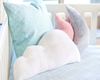 Curated Nest: Nurseries and Design - Oilo Dream Blue Moon Pillow - pillow