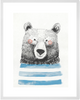 Curated Nest: Nurseries and Design - Cheerful Bear Print - Art