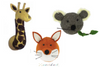 Curated Nest: Nurseries and Design - Animal Mount Trio - Custom Set - Custom