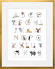 Curated Nest: Nurseries and Design - ABC Animals Print - Art