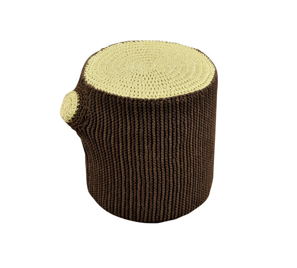 Stumped Crochet Stool