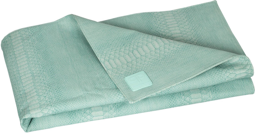 Posh Play Mat - Turquoise Crocodile