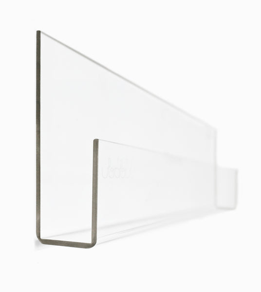 Curated Nest: Nurseries and Design - Booksee Clear Acrylic Wall Bookshelf Set - Bookshelf