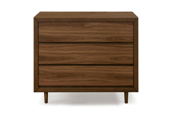 Curated Nest: Nurseries and Design - Nifty 3-Drawer Dresser - Walnut - Dresser