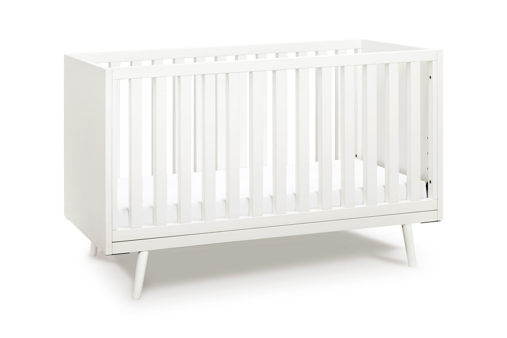 Nifty Timber 3-In-1 Crib - Warm White