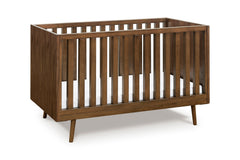 Nifty Timber 3-In-1 Crib - Walnut