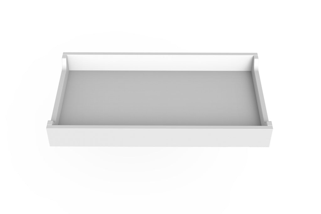 Spot on Square Changing Tray - White