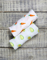 Baby's First Foods Organic Swaddles Set