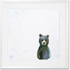 Curated Nest: Nurseries and Design - Baby Teddy Bear Standing - Art