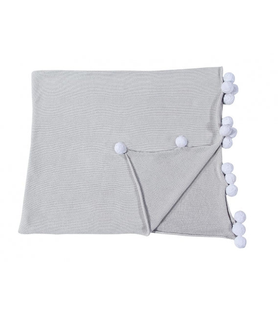 Curated Nest: Nurseries and Design - Bubbly Blanket - Light Grey - Blanket