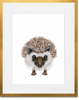 Curated Nest: Nurseries and Design - Baby Hedgehog Print - Art