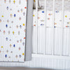 Curated Nest: Nurseries and Design - Quilt in Robot March - Blanket