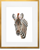 Curated Nest: Nurseries and Design - Safari Baby Zebra Portrait - Art