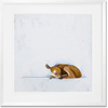 Curated Nest: Nurseries and Design - Baby Fawn Napping - Art
