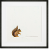 Curated Nest: Nurseries and Design - Baby Squirrel Searching for Nuts - Art