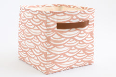 Watercolor Scallops Storage Bins (Set of 3)