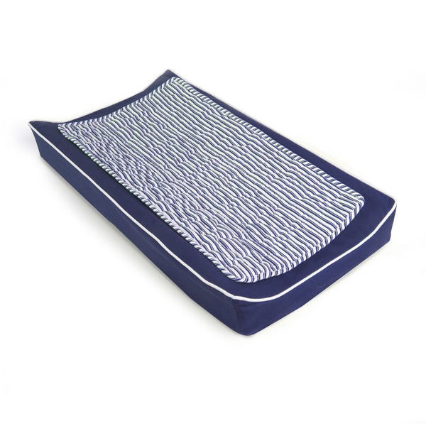 Oilo Cobalt Changing Pad Cover and Topper
