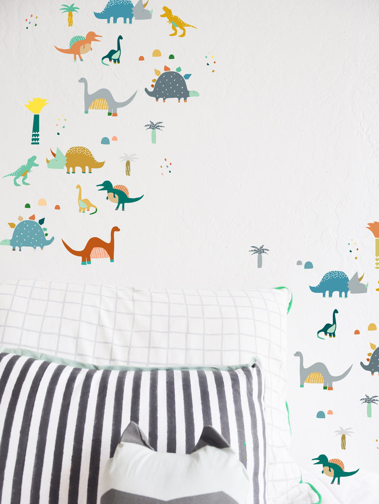 Curated Nest: Nurseries and Design - Roaming Dinos Decals - Decal