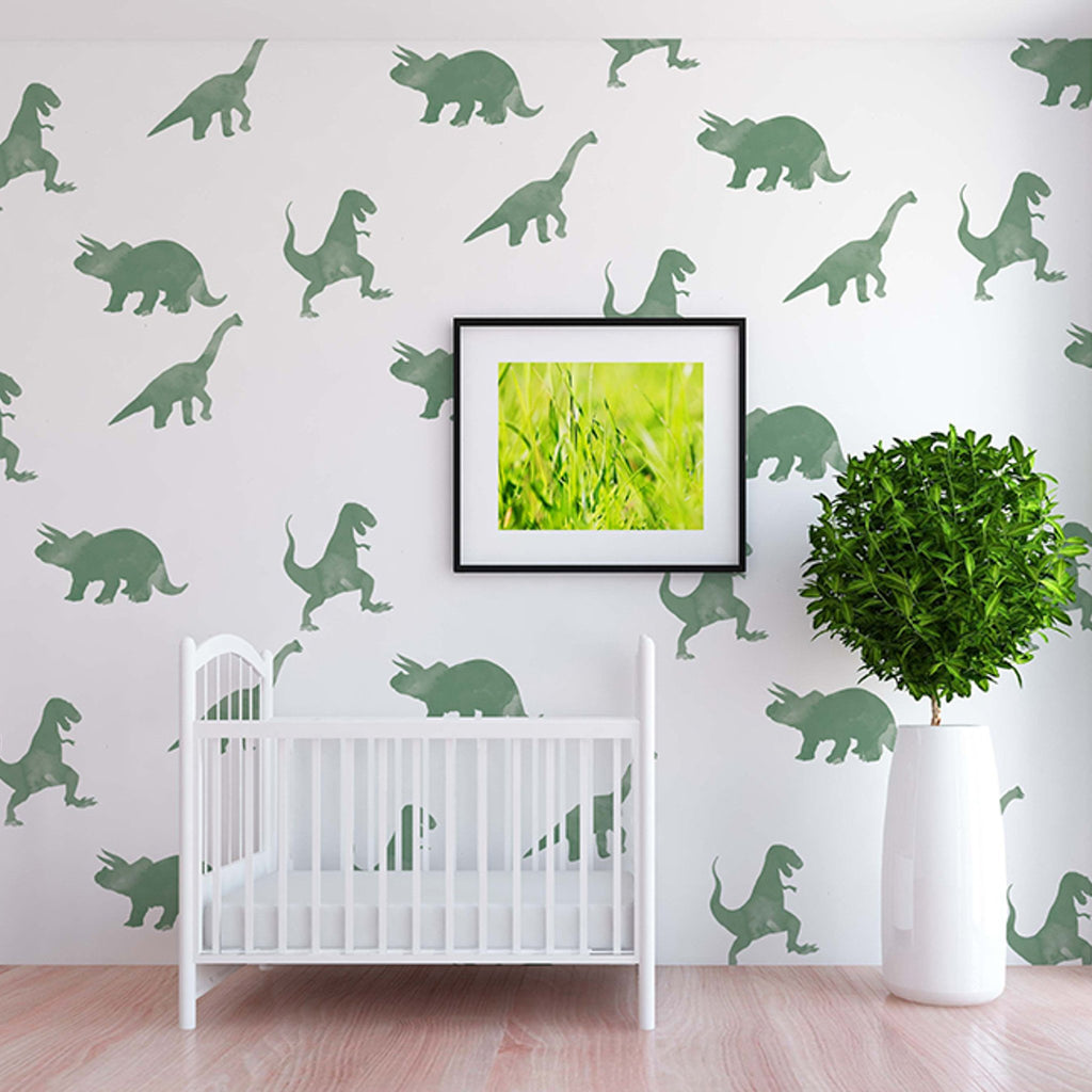 Curated Nest: Nurseries and Design - Rex Decals - wallpaper