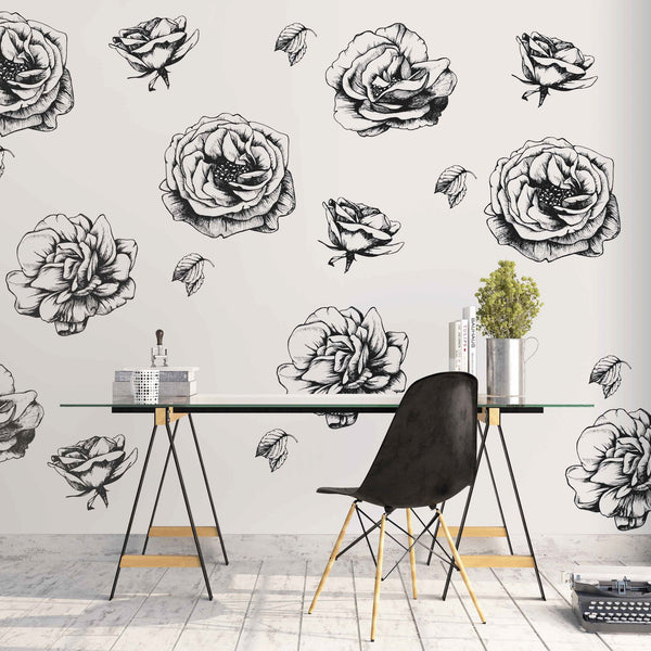 Curated Nest: Nurseries and Design - Avril Decals - wallpaper