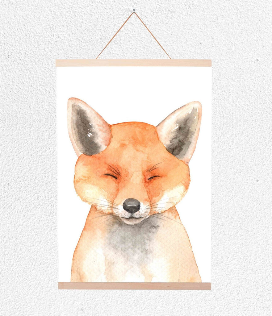 Curated Nest: Nurseries and Design - Fox Hanging Print - Art